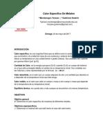 Calor Especifico De Metales.docx
