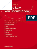 All the Law You Should Know