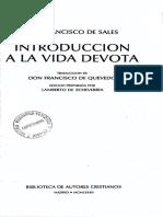 S. Francisco de Sales, Introducción a la vida devota.pdf