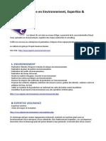 Cabinet 2Ec, Etude en Environnement, Expertise & Consulting Algerie