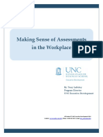 Unc White Paper Making Sense of Assessments
