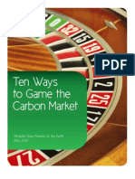 10 Ways to Game the Carbon Markets Web