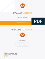 Ewallet Monero Official Presentation 2