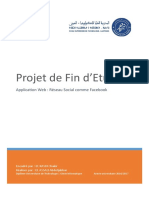 Rapport de PFE - Application web Résau social