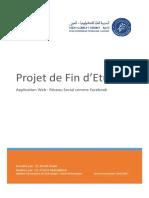 Rapport de PFE - Application web Résau social