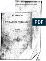 Yaratici Tekamul - Henri Bergson