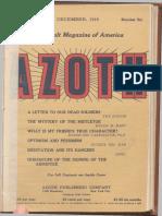 Azoth, December 1918