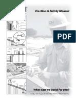 Erection Manual PEB Building, PEB, Manual,