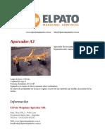 Aporcador A3 - El Pato Maquinarias