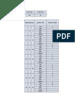Sat Flow Excel