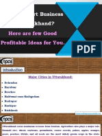 Want to Start Business in Uttarakhand? Here are few Good Profitable Ideas for You.