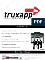 Trux App Logistic Solution Introduction