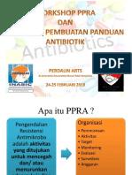 Workshop Ppra