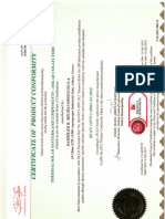 Renergy Dcl Certification