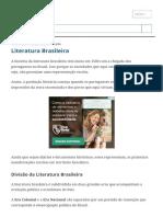 Literatura Brasileira_ Resumo, História e Escolas Literárias - Toda Matéria