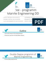 Degree-Program Marine Engineering DD
