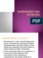 Environment and Nutrition