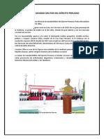Día de La Sanidad Militar Del Ejército Peruano