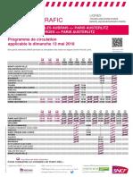 Tours-Orleans-Paris Et Montluçon-Bourges-Paris Du 13-05-2018