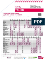 Tours - Vierzon - Bourges - Nevers Du 14-05-2018