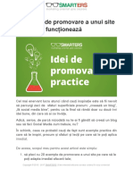 PDF Promovare Site by SMARTERS