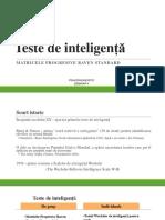 Psihodiagnostic. S4 - Testele de inteligenta. Matricile progresive Raven.pdf