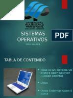 Presentacion Open Souse y Linux