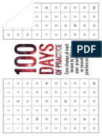100 Days of Practice