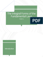 The Integral Forms of the Fundamental Laws