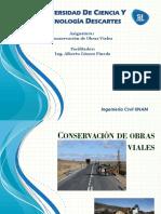 Conservación de caminos