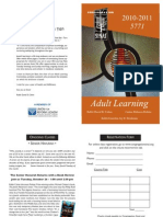 Sinai Adult Education Brochure 2010-2011