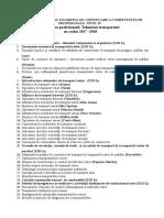 Sinziana LICAN - Teme Proiecte 2017 - 2018(1) (2)