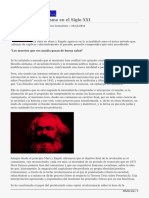 La Haine.vigencia Del Marxismo en El