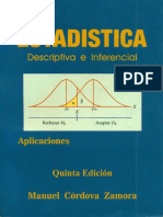 183483848 Estadistica Descriptiva e Inferencial Manuel Cordova Zamora PDF