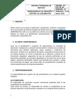 Po-ccd-pe-01 Procedimiento de Creación y Control de Documentos