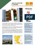 Red Inalámbrica Para El Control Del Tráfico en Pereira, Colombia