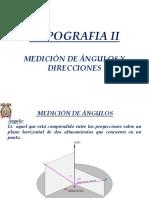 Topografia II Unidad 1-1 Angulos y Direcciones