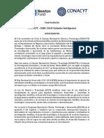 Convocatoria CONACYT - ESRC 2018 Ciudades Inteligentes Vf09!03!17
