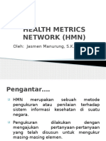 Health Metrics Network (Hmn)