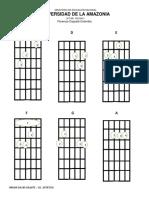Guitarra Chords Maj - Min