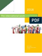 international week report