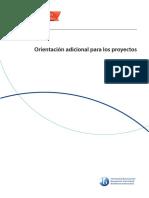 Orientación adicional de los proyectos personales IB-MYP