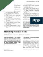 Identifying Irradiated Foods