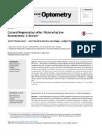 Corneal Regeneration After Photorefractive Keratectomy (1)