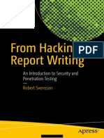 From Hacking to Report Writing - 1st Edition (2016)