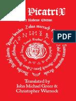 Picatrix Redbook