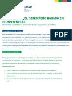 Programa Evaluacion Del Desempeno Basado en Competencias