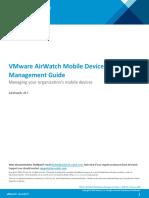 Mobile Device Management Guide v8 3