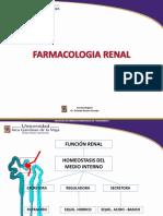 Farmacología renal y cardiovascular 2018