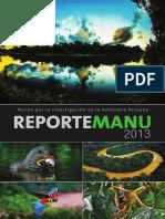 Reporte Manu 2013 Final